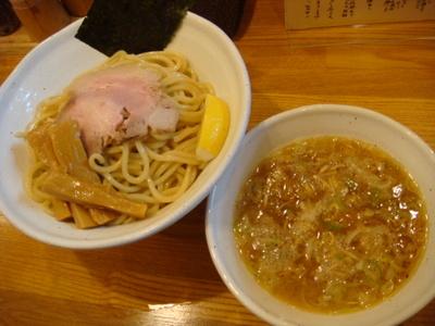 新松戸【麺道GENTEN】「つけ麺 大盛り」